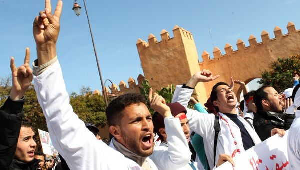 Протест у Мароку - Sputnik Србија