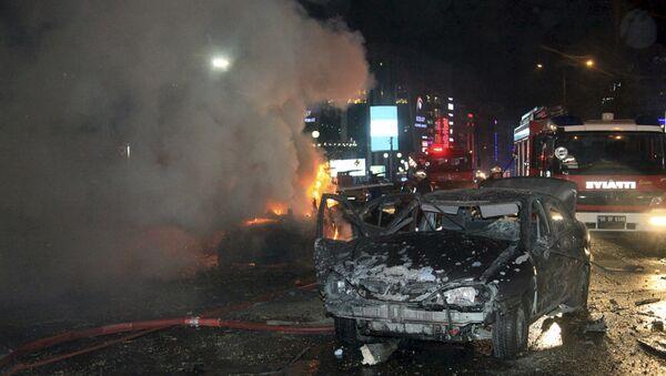 Терористички напад у Анкари, Турска, 13. март 2016. године - Sputnik Србија
