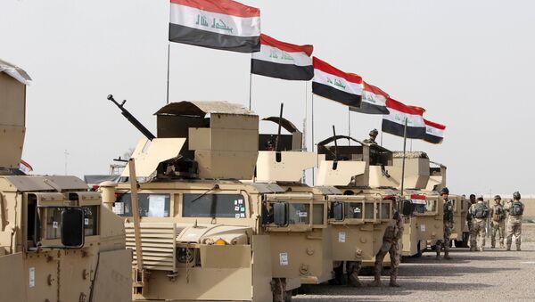 Iračka vojska na putu u Mosul i borbu sa teroristima DAEŠ-a - Sputnik Srbija
