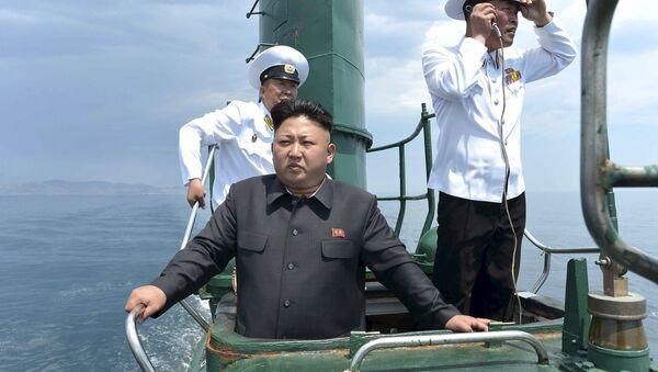 Lider Severne Koreje Kim Džong Un - Sputnik Srbija