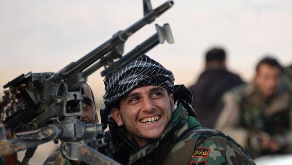 Sirijski vojnik u blizini Palmire - Sputnik Srbija