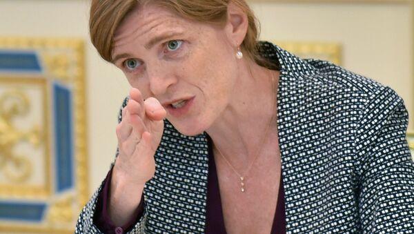 Stalna predstavnica SAD pri UN Samanta Pauer - Sputnik Srbija