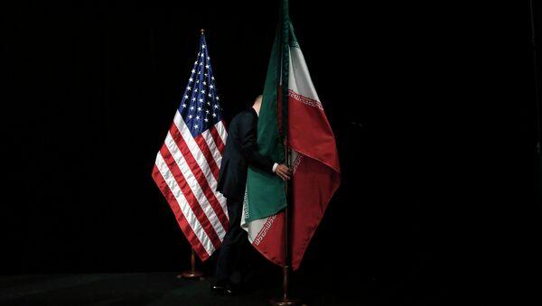 Zastava SAD i Irana - Sputnik Srbija