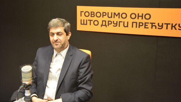 Madžir Fahimpur, ambasador Islamske Republike Iran u Srbiji - Sputnik Srbija
