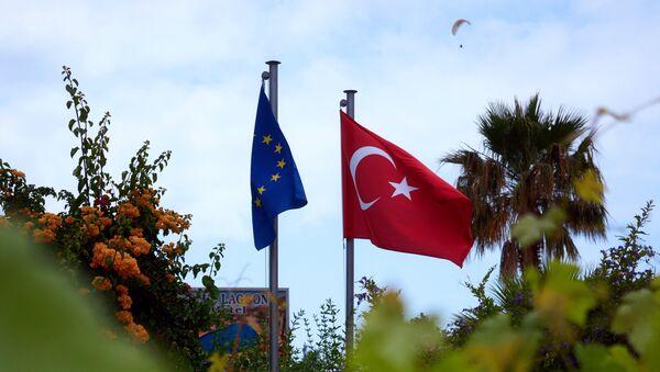 Заставе Турске и ЕУ - Sputnik Србија