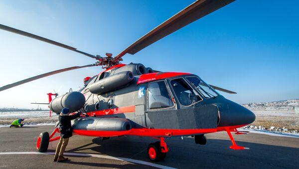 Ruski arktički helikopter Mi-8AMTsh-VA - Sputnik Srbija