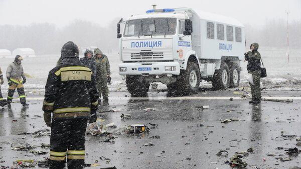 Остаци авиона боинг 737-800 на аеродрому у Ростову на Дону. - Sputnik Србија