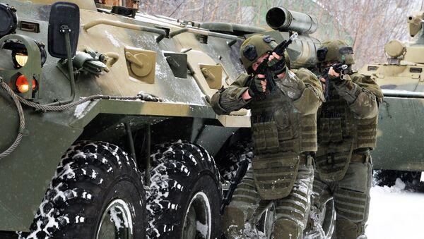 Војна вежба батаљона инжењерских трупа Руске Федерације - Sputnik Србија