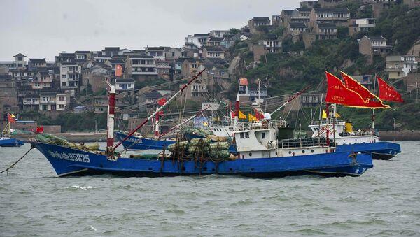 Kineski ribarski brod - Sputnik Srbija