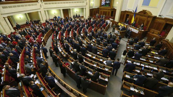 Ukrajinska skupština u Kijevu - Sputnik Srbija