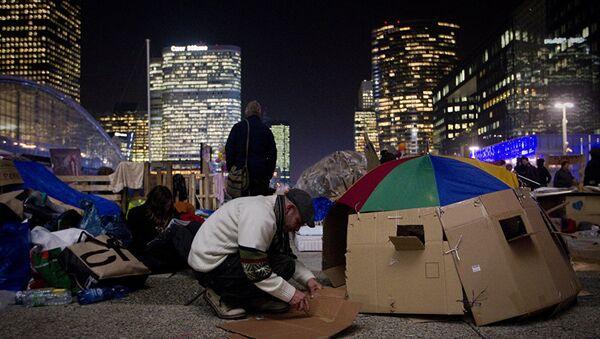 Избеглички камп код Париза - Sputnik Србија