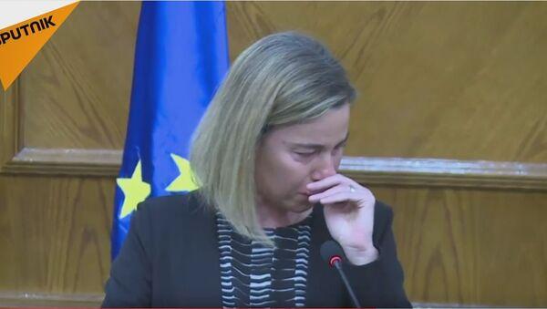 Плач високе представнице ЕУ због жртава тероризма - Sputnik Србија