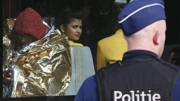 Путници евакуисани након напада на аеродрому Завентем - Sputnik Србија