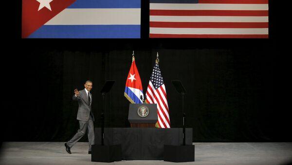 Амерички председник Барак Обама у посети Куби - Sputnik Србија