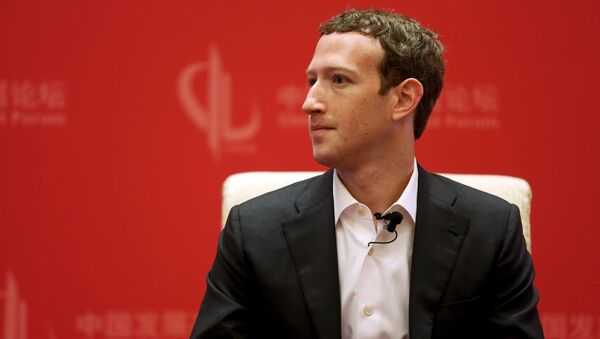 Osnivač Fejsbuka Mark Zakerberg - Sputnik Srbija