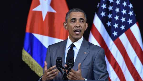 Predsednik SAD Barak Obama tokom zvanične posete Kubi - Sputnik Srbija