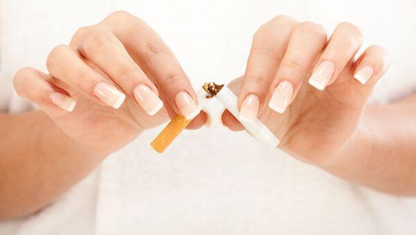 Поломљена цигарета - Sputnik Србија