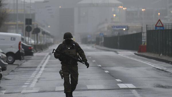 Брисел, празне улице - Sputnik Србија