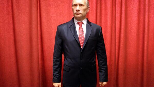 Воштана фигура Владимир Путина у музеју у Јагодини - Sputnik Србија