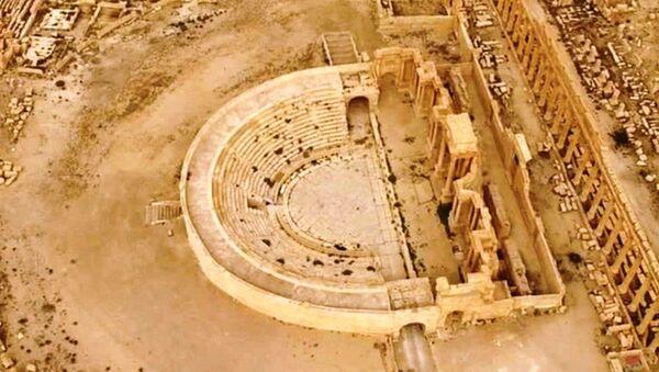 Palmira ruševine - Sputnik Srbija