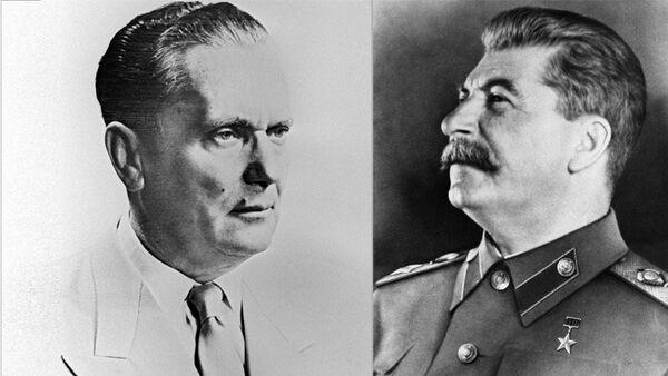 Јосип Броз Тито и Јосиф Стаљин - Sputnik Србија