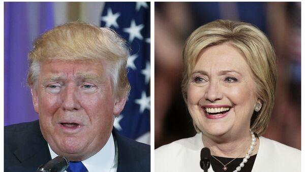 Donald Tramp i Hilari Klinton - Sputnik Srbija