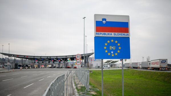 Granični prelaz Slovenije sa Hravatskom - Sputnik Srbija