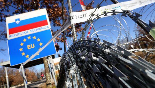 Жица на словеначкој граници - Sputnik Србија