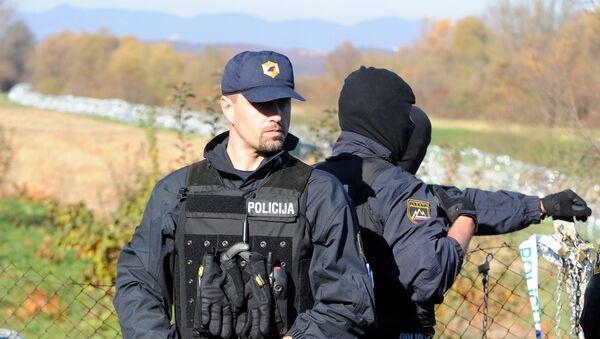 Slovenačka specijalna policija - Sputnik Srbija