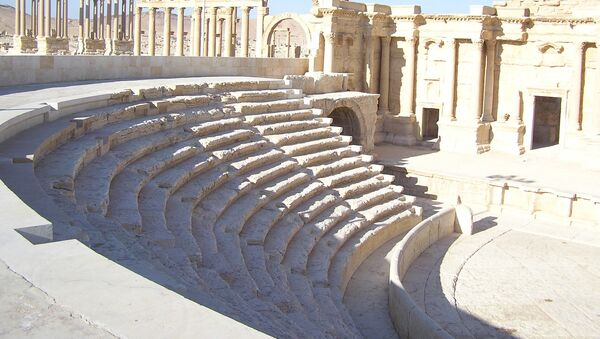 Ruševine drevnog grada Palmire - Sputnik Srbija