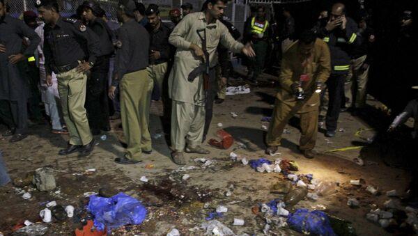Пакистан, лахор, бомбаш самоубица - Sputnik Србија