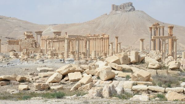Palmira, istorijski deo grada koji su razorili teroristi - Sputnik Srbija