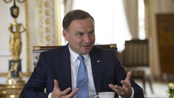 Председник Пољске Анджеј Дуда - Sputnik Србија