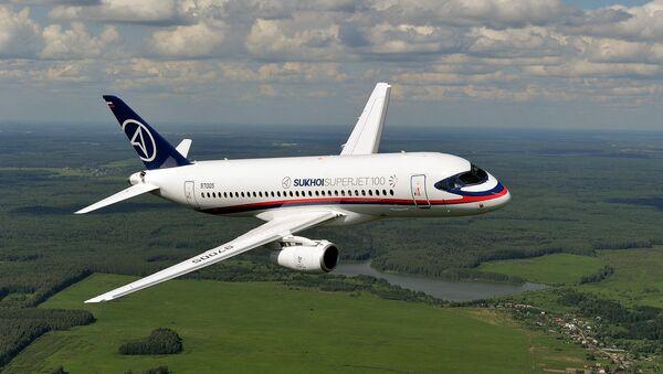 Авион Сухој Суперџет 100 - Sputnik Србија