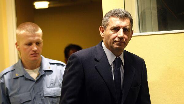 Bivši hrvatski general Ante Gotovina u haškoj sudnici - Sputnik Srbija