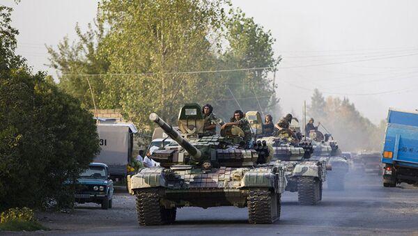 Тенкови Оружаних снага Азербејџана - Sputnik Србија