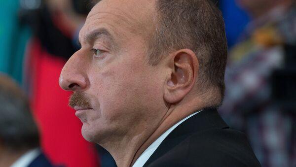 Председник Азербејџана Иљхам Алијев - Sputnik Србија