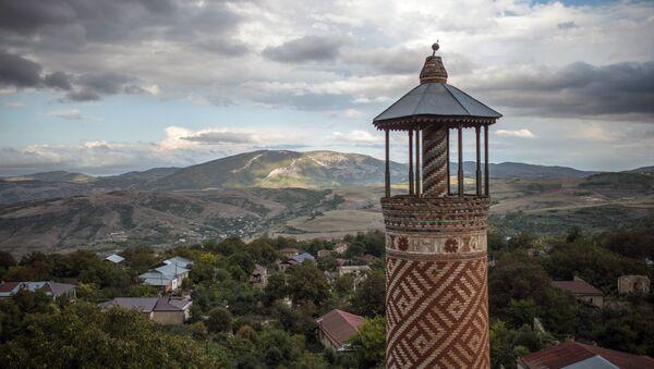 Minaret u samoproglašenoj jermenskoj republici Nagorni Karabah - Sputnik Srbija