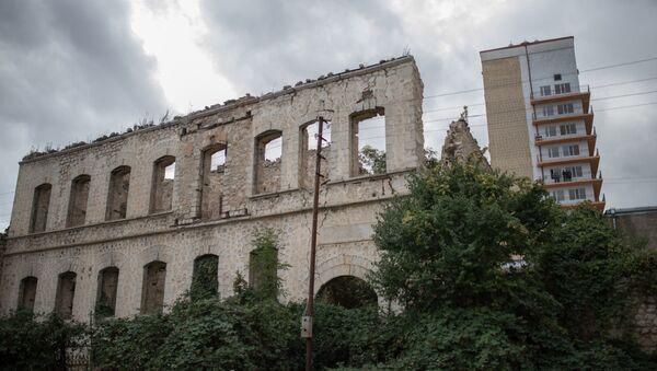 Кућа уништена током рата у граду Суша (Shusha) самопроглашене Нагорно-Карабакх Републике - Sputnik Србија