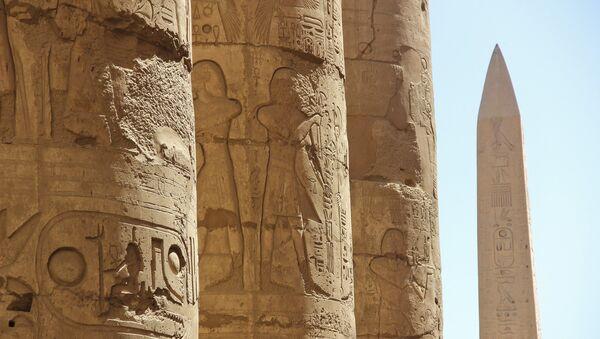 Египат - детаљ из Луксора. - Sputnik Србија