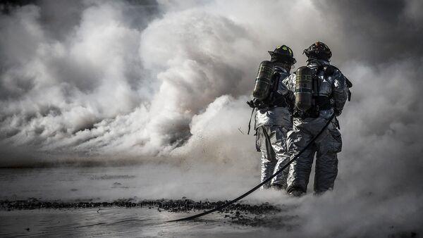 Vatrogasci gase vatru. - Sputnik Srbija