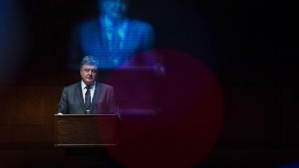 Ukrajinski predesednik Petro Porošenko - Sputnik Srbija
