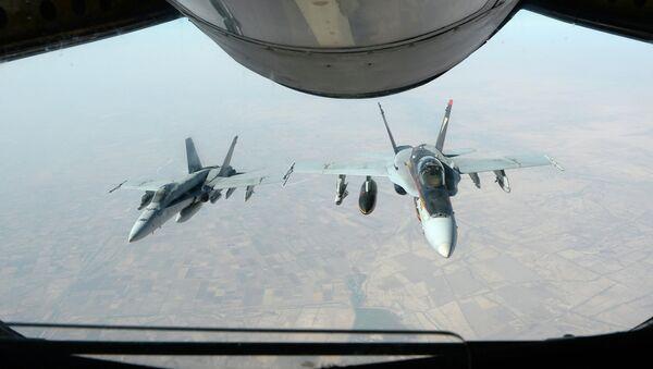 Američki borbeni avioni u Siriji - Sputnik Srbija