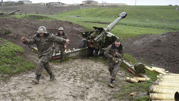 Јерменски војници у Нагорно-Карабаху - Sputnik Србија