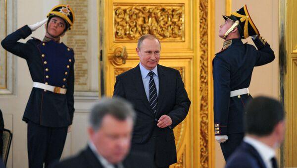 """Ruski predsednik Vladimir Putin je predsedavao sastanku Organizacionog odbora ruske """"Pobeda"""" - Sputnik Srbija"""