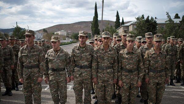 Vojska Nagorno-Karabaha - Sputnik Srbija