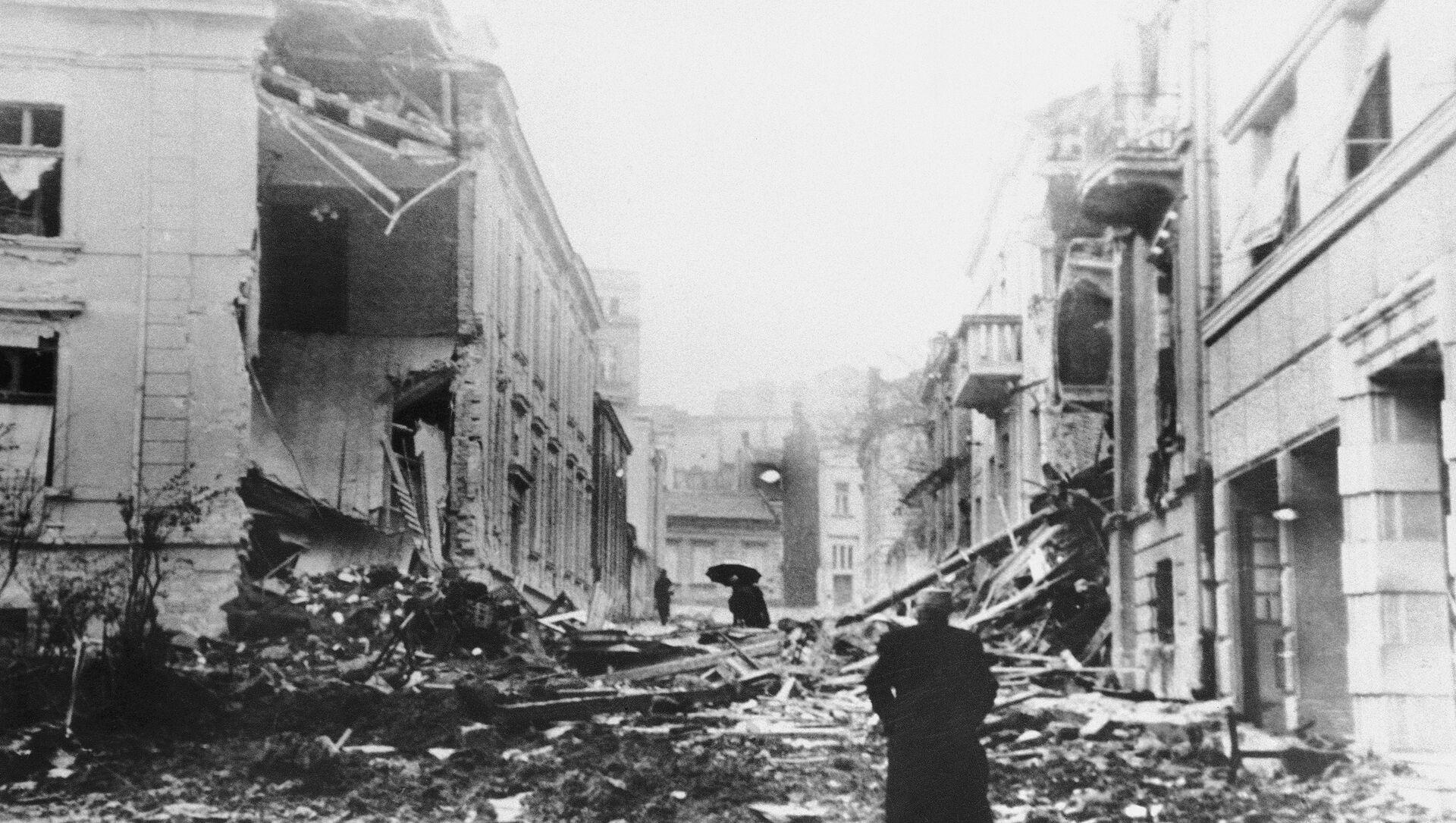 Бомбардовање Београда 6. априла 1941. - Sputnik Србија, 1920, 05.04.2021