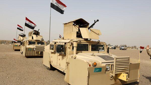 Ирачке безбедносте снаге на путу у Мосул - Sputnik Србија