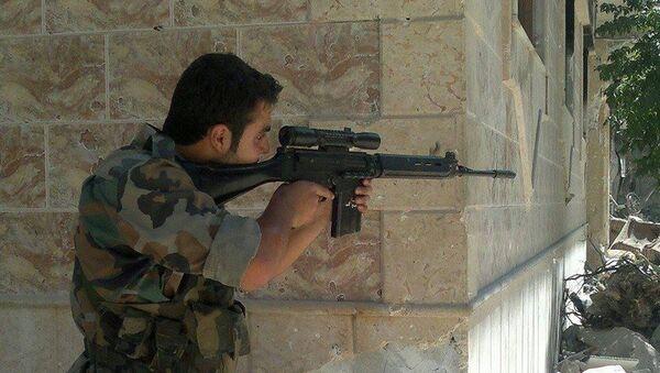 Сиријски војник Аднан ел Ахмад - Sputnik Србија