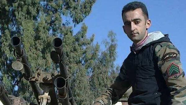 Сиријски војник Мухамед Амар - Sputnik Србија